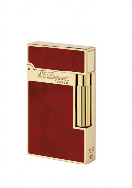 ST Dupont Lighter - Atelier Collection - Chinese Lacquer Cherry and Gold
