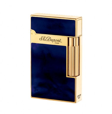 ST Dupont Lighter - Atelier Collection - Chinese Lacquer Blue and Gold