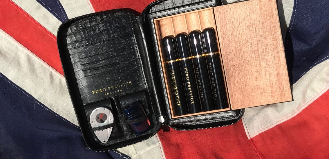 The Churchill Edition Cigar Case