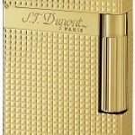 ST Dupont Lighter - Ligne 2 - Gold Diamond Head