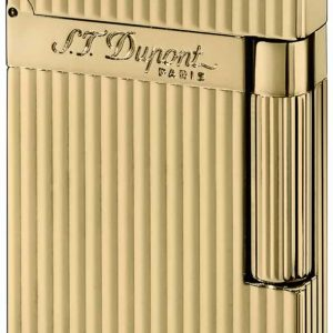 ST Dupont Lighter - Ligne 2 - Gold Montparnasse Vertical Lines