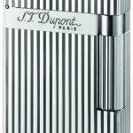 ST Dupont Lighter - Ligne 2 - Silver Montparnasse Vertical Lines