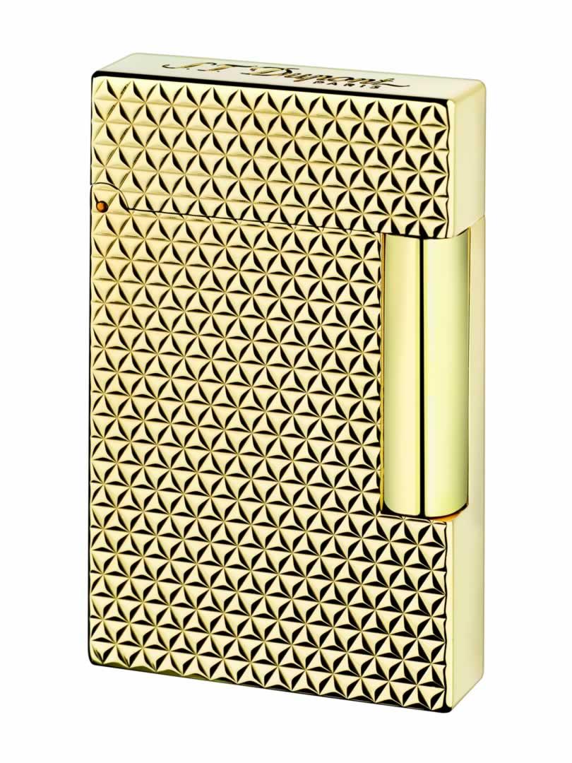 ST Dupont Lighter - Ligne 2 - Yellow Gold