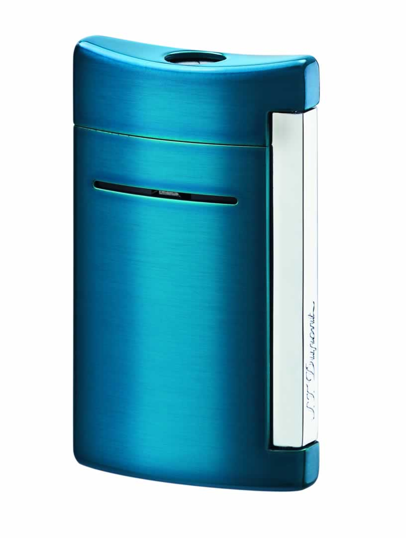 ST Dupont Lighter - Minijet - Electric Blue