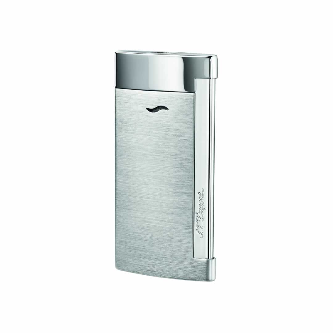 ST Dupont Lighter - Slim 7 - Brushed Chrome