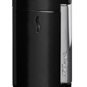 ST Dupont Lighter - Minijet - Chrome Black